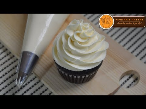 CONDENSED MILK BUTTERCREAM RECIPE  | Ep. 28 | Mortar And Pastry