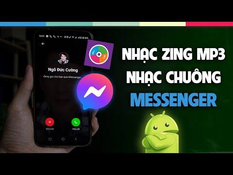 Cài nhạc zing mp3 làm nhạc chuông Messenger | TECHhow vn