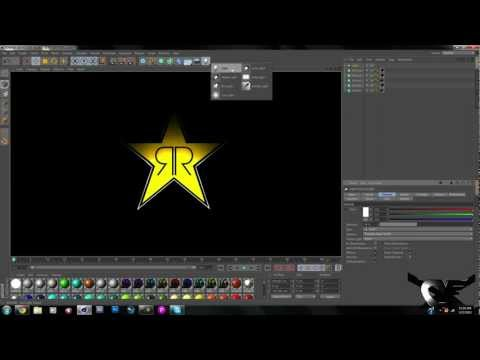 ROCKSTAR ENERGY DRINK LOGO SPEED ART