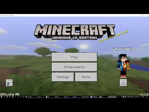 How to change your skin in Minecraft Windows 10 edition