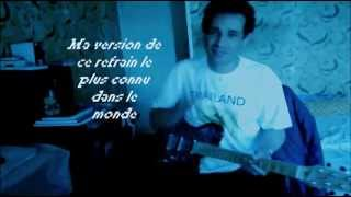 Happy birthday  Joyeux anniversaire (guitare)