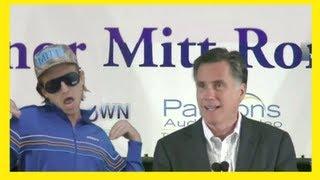 Mitt Romney Likes Music, Including This! thumbnail