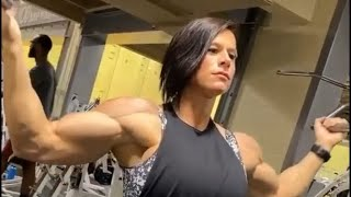 Женский бодибилдинг 19 Female bodybuilding of Tik Tok