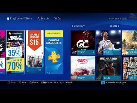 Playstation Black Friday Digital Deals