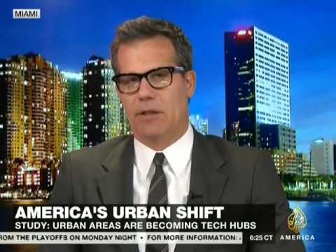 CNN Ali Velshi Real Money Interview with Richard Florida