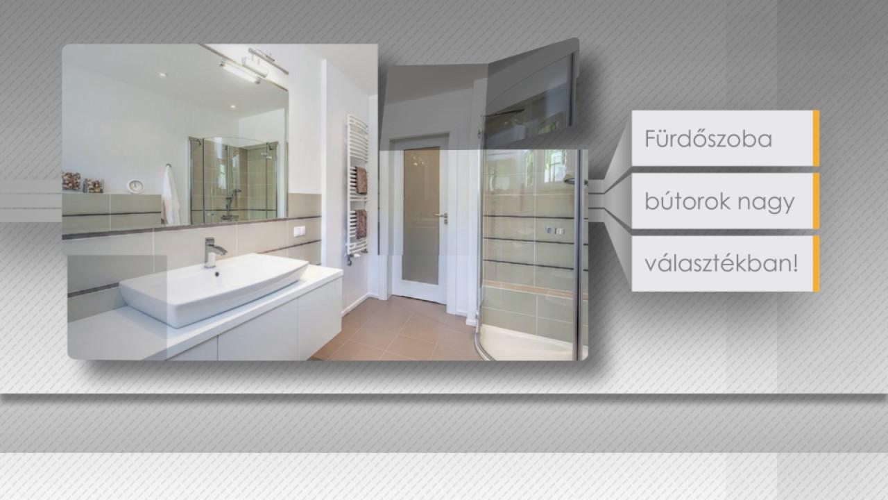 Fürdőszoba bútorok minden mennyiségben! - YouTube
