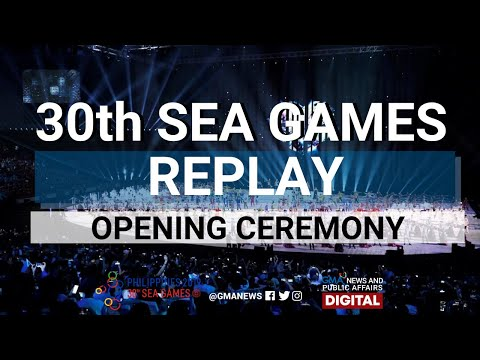 FULL VIDEO: Opening Ceremony Of The 30th Southeast Asian Games