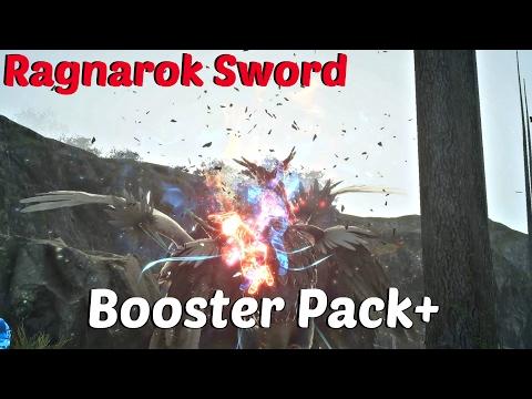 FINAL FANTASY XV - Booster Pack+ DLC Gameplay | Ragnarok Red Warp SWORD & Fishing Rod