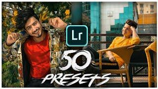 Lightroom Mobile 50 Presets free Download in 1 click in Hindi    Lightroom Presets Pack Download