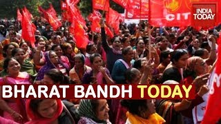 Trade Unions Call For Bharat Bandh, Supporters Block Rail In Howrah And Barrackpore
