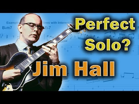 Jim Hall - Ingredients Of The Best Solos