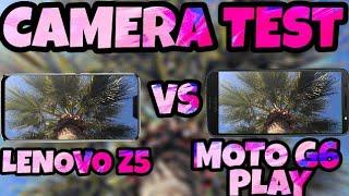 Lenovo z5 vs moto g6 play camera test