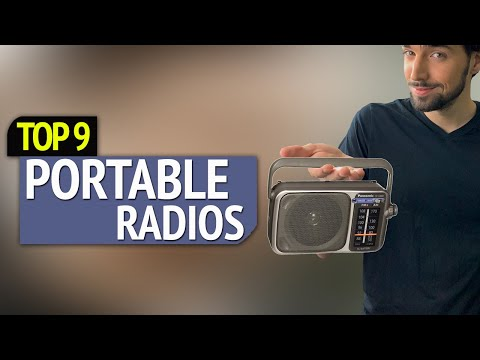 TOP 9: Best Portable Radios 2018