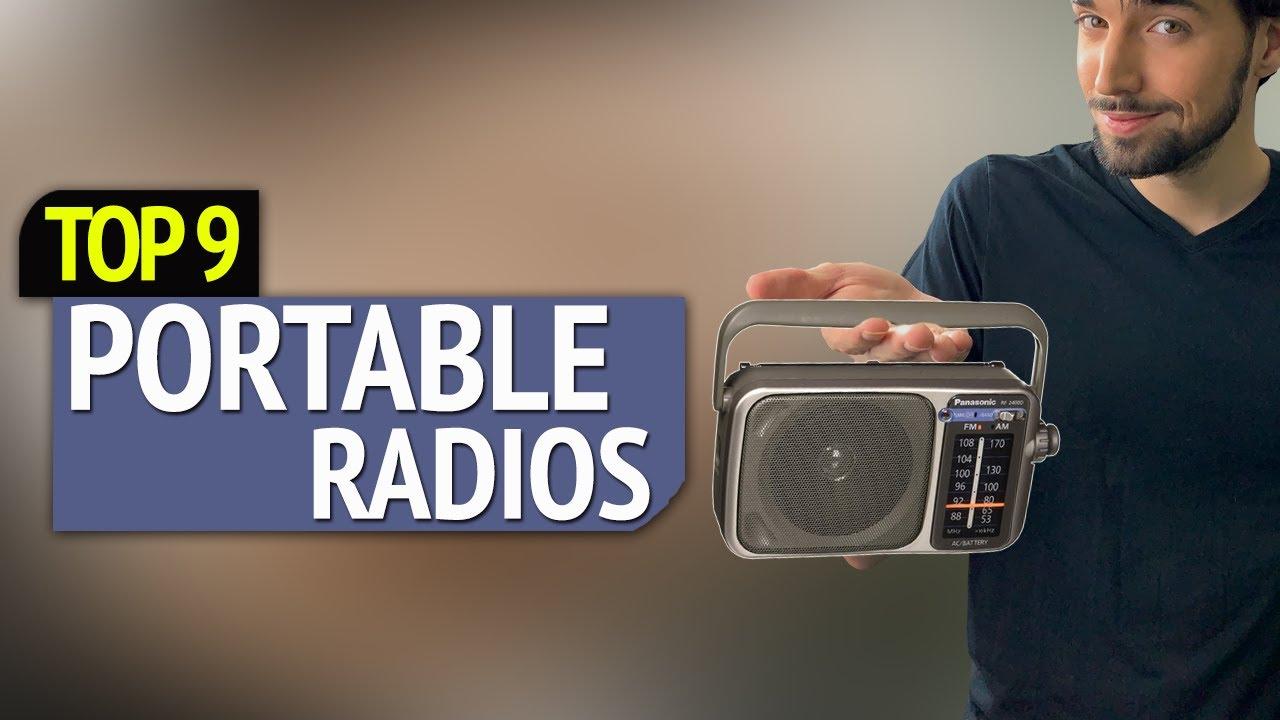 Best Portable Radio 2020 TOP 9: Best Portable Radios   YouTube
