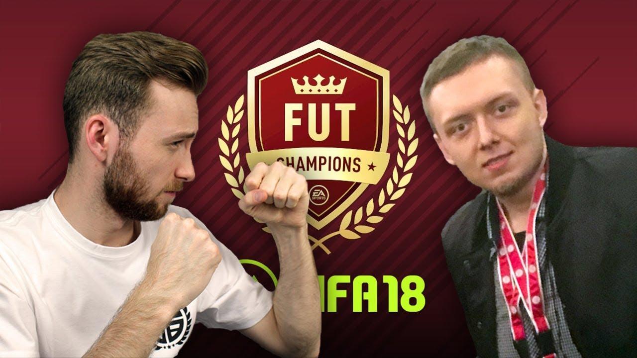 WIELKI MECZ FIFA 18 VS DOMMANU – FUT CHAMPIONS!