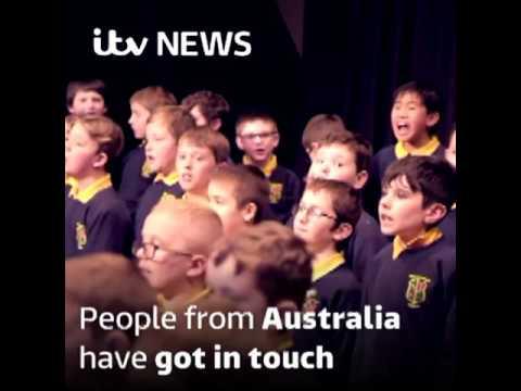 Schoolgirls Hallelujah Heard Around The World