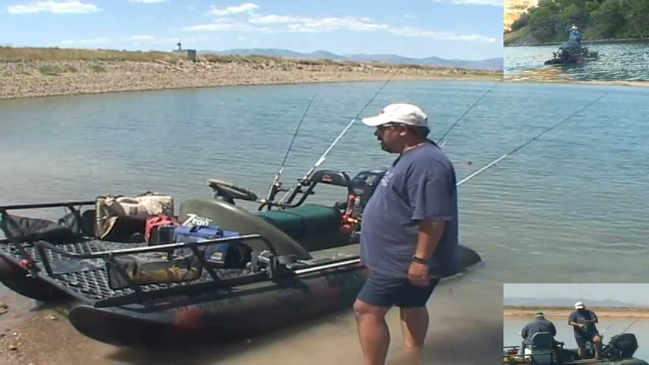 zego boat 1 man fishing machine promo commercial that is