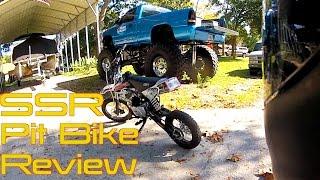 SSR 125cc Pit Bike Review & Exploring