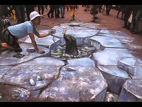 3D Street Art Illusion