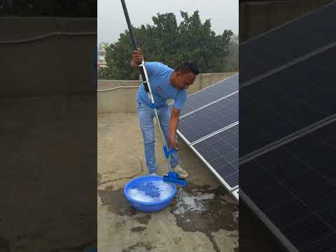 How To Clean Solar Panels Part- 2