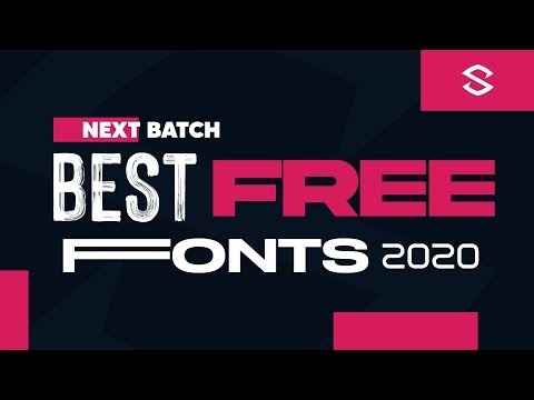 Top 10 Best Free Fonts | Install Fonts On PixelLab.