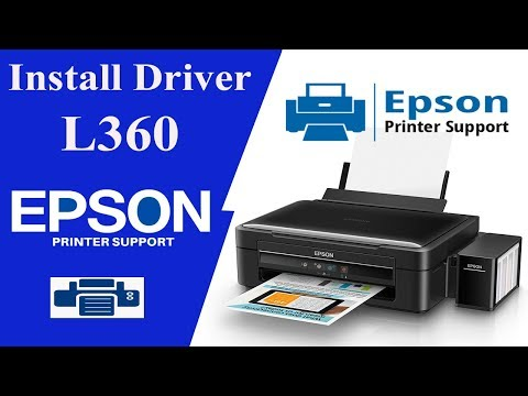 Epson L360 Drivers, How To install , Printer drivers