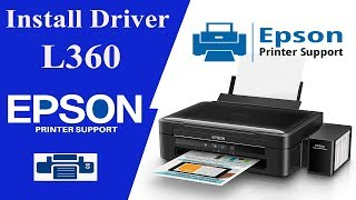 Gambar cover Epson L360 Drivers, How To install , Printer drivers