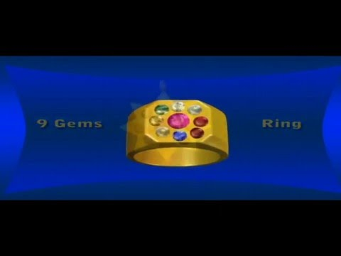 Lucky 9 Gems (Nine Gems) / Navaratna 3D Animation Part 2