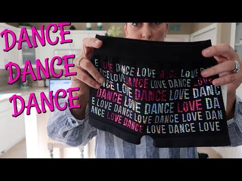 FIRST DANCE CLASS AT THE NEW STUDIO! DANCE CLOTHES HAUL!