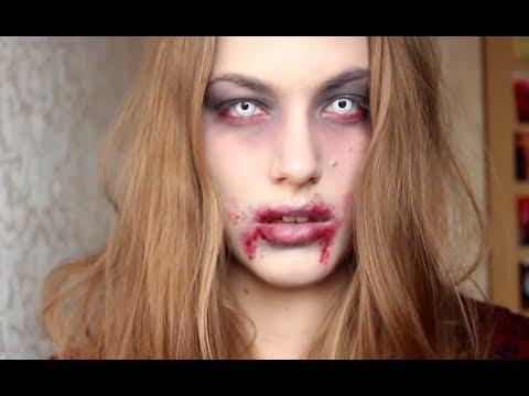 Halloween Zombie Schmink.Halloween Zombie Makeup Tutorial