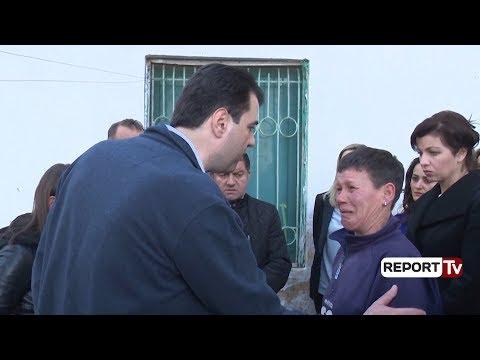 Report TV - Basha në Lezhë, takon familje të varfra pa ndihmë ekonomike