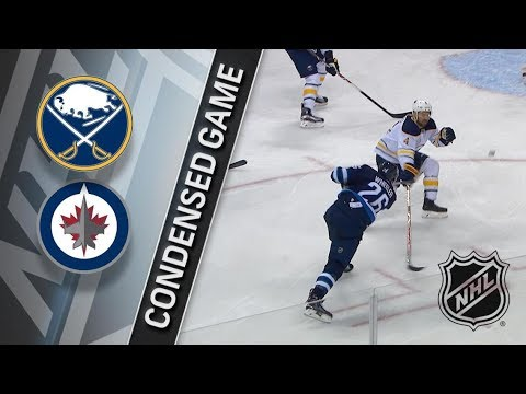 Buffalo Sabres vs Winnipeg Jets – Jan. 05, 2018 | Game Highlights | NHL 2017/18. Обзор матча