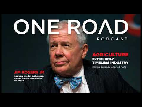 One the Road with Jim Rogers: agriculture, currencies and trust in history. ORP snippet