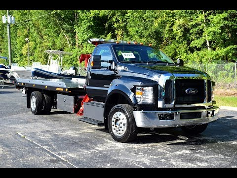 *On-The-Lot*2017 Ford F-650 Regular Cab XLT with Jerr-Dan XLP Dual Angle Deck – Stock# 9232
