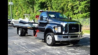2017 Ford F-650 Regular Cab XLT with Jerr-Dan XLP Dual Angle Deck – Stock# 9232