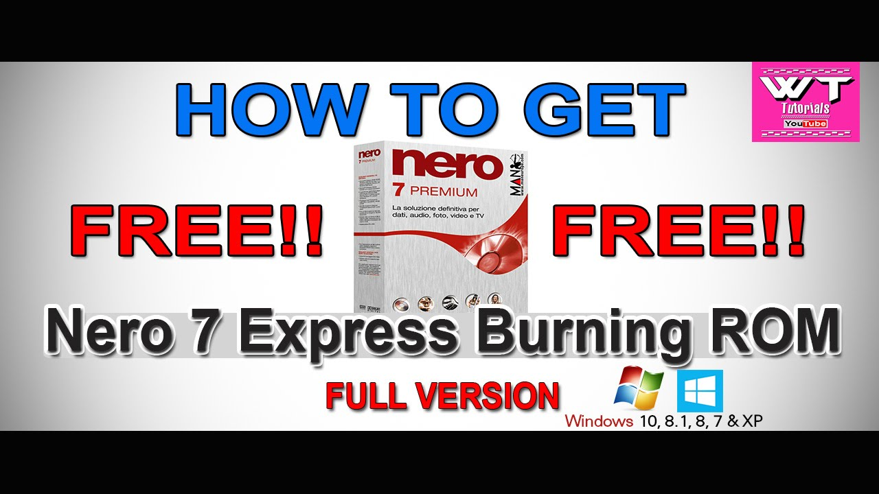 nero express free download for windows 7 64 bit