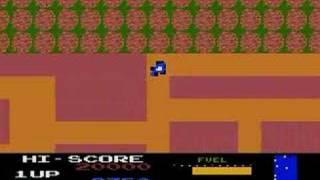 New Rally X - conversión para Atari 8 bits - demo - beta 2