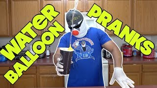 Water Balloon Pranks That Will Get People Wet - HOW TO PRANK | Nextraker
