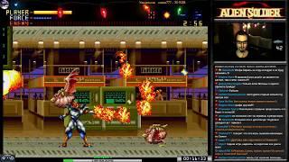Alien Soldier прохождение [ Superhard ] (J) | Игра на (SEGA Genesis, Mega Drive) 1995 Стрим RUS