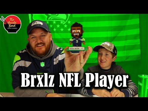 Brxlz NFL Mini Player: Russell wilson, Seattle Seahawks