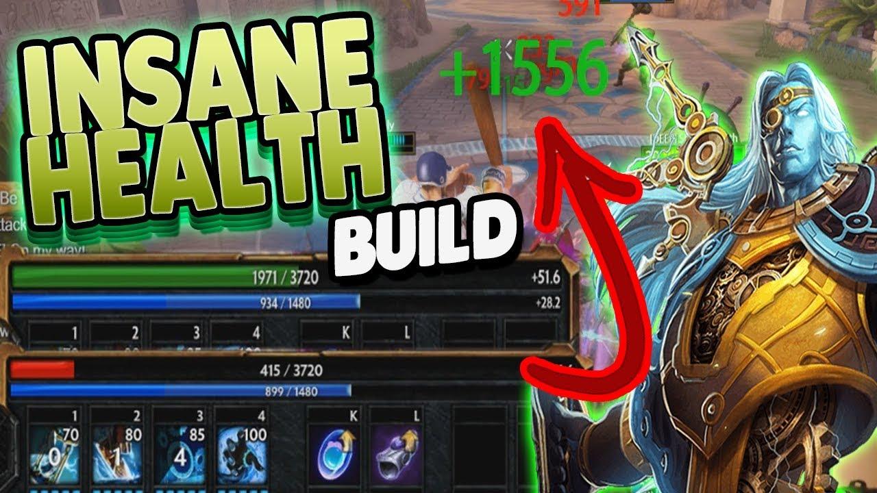 Smite Insane Healing Chronos Build Never Going To Kill Me Now Youtube