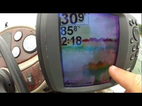 How to Read a Fish Finder (Finding the Thermocline and other things)