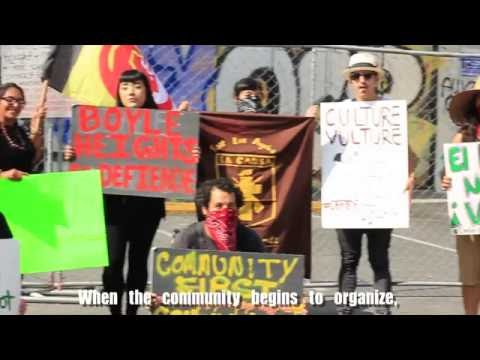 Defend Boyle Heights Action Against Gentrification