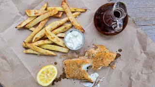 How To Make Sheet Pan Fish and Chips