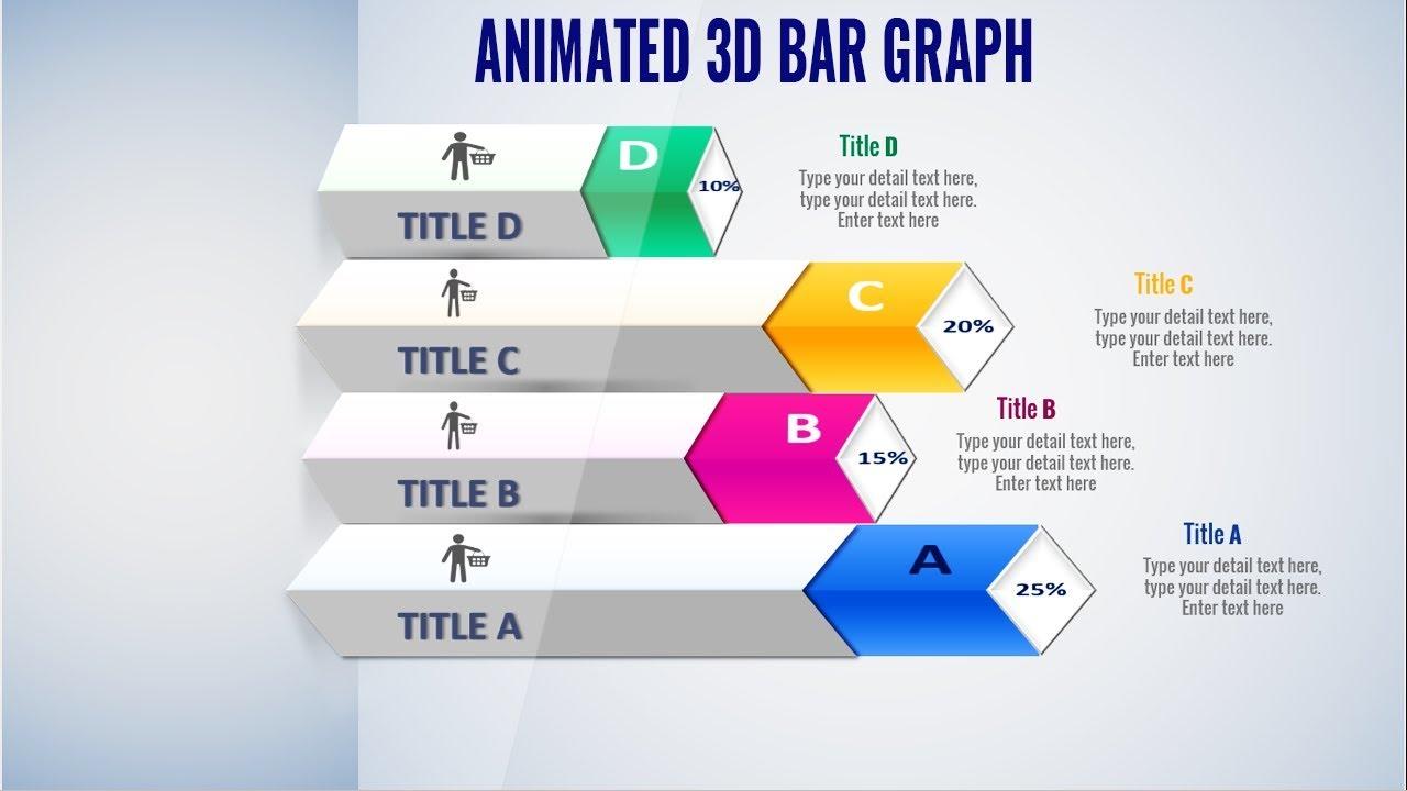 animated powerpoint 3d bar