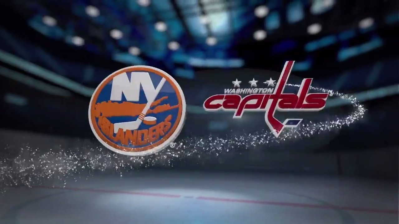 Washington Capitals Vs New York Islanders Highlights