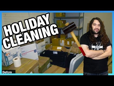 GN Warehouse Update Vlog & Holiday Organization | Behind-the-Scenes