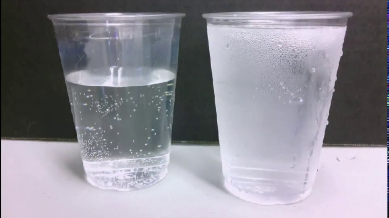 how does water go from a gas to a liquid  condensation