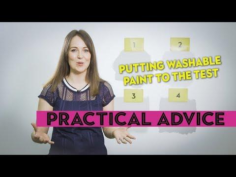 Revealed: The Best Washable Paints