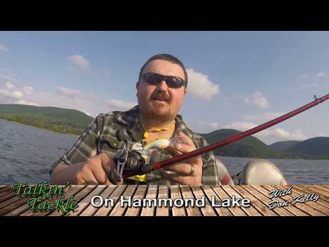 Bass Fishing On Hammond Lake With The Strike King 5XD- Talkin' Tackle